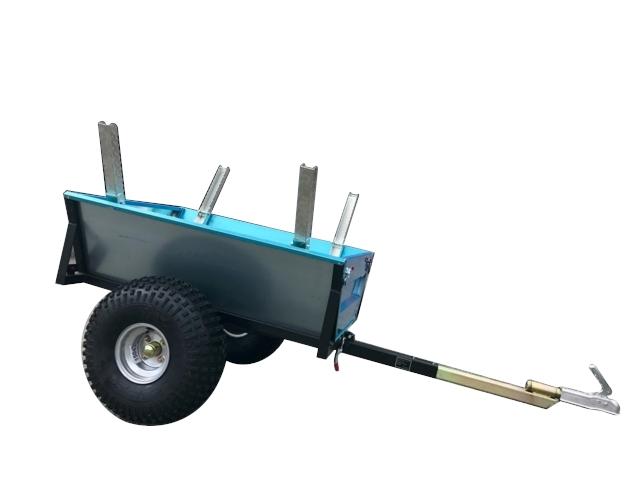 Tømmerhenger  Tipp 1 akslet - TELEMARK