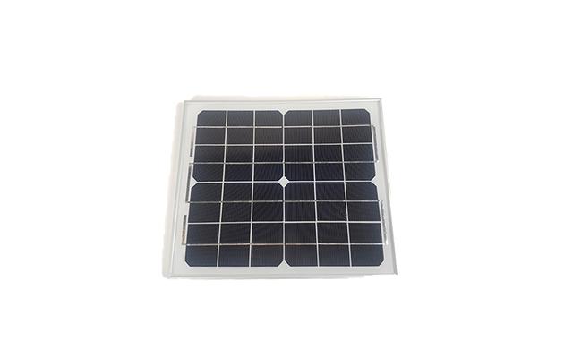 Solcellepanel 10watt med ramme