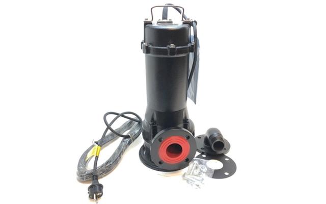 Avløpspumpe med kvern 1100 watt