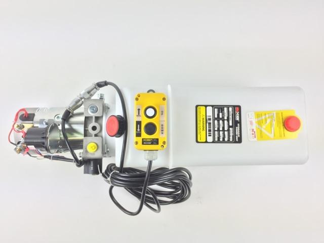 24V Enkeltvirkende hydraulikkaggregat - 20D06-005