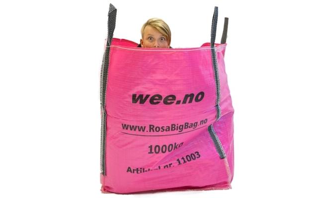 Bigbag Storsekk SWL 1000kg bunntømming og åpen topp