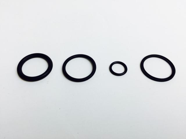 O-ring sett til Hydr. sentral for vedkløyver 3 PT & BTG