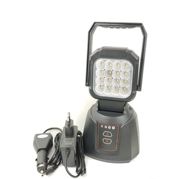 Arbeidslampe LED oppladbar og bærbar med magnet