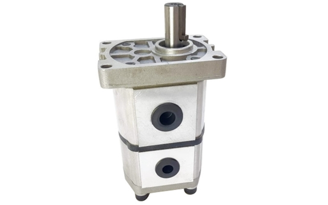Hydraulikkpumpe, dobbel, til vedmaskin  740 RPM