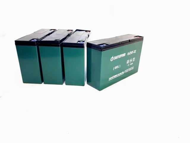 Batteripakke til Dumper (ELENA) 500 kg (6-DZM-32Z)