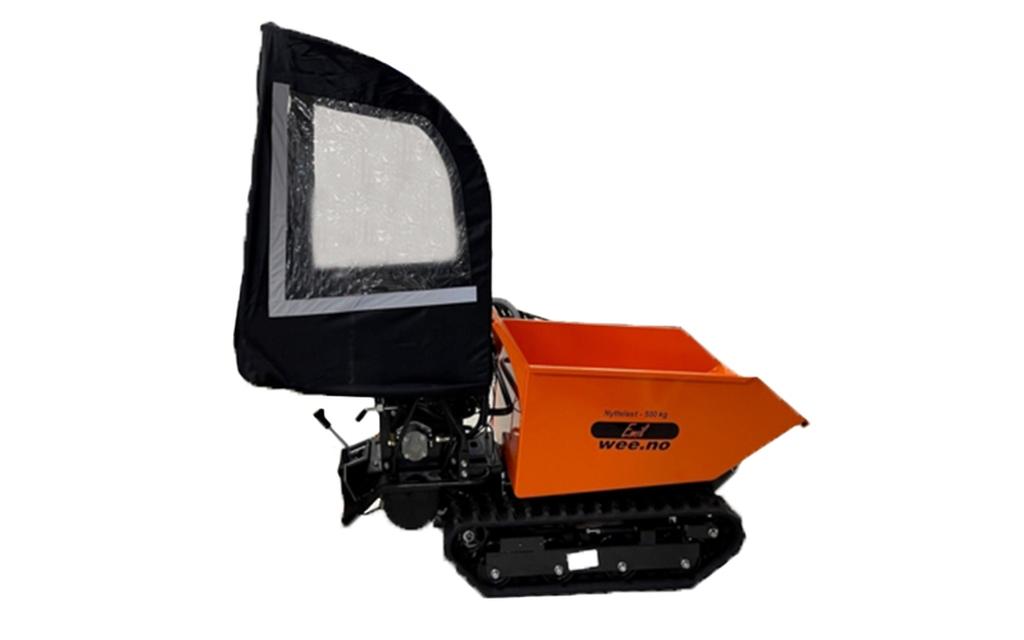Universal Kabin til minidumper  tohjultraktor snøfres mm