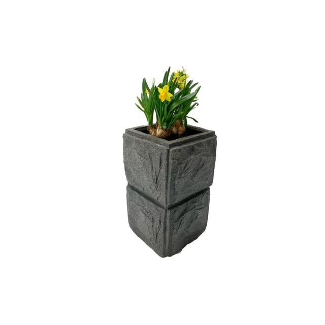 Blomsterpotte monkstein singel