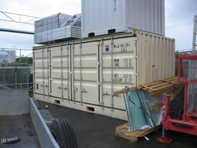 Ny 20 Fots Container med sideåpning