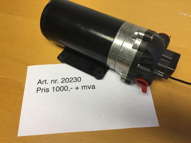 Komplett motor med pumpe DP120 (gammel type)