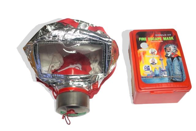 Evakueringsmaske ved brann i 40 minutt (SGS Sertfikat)