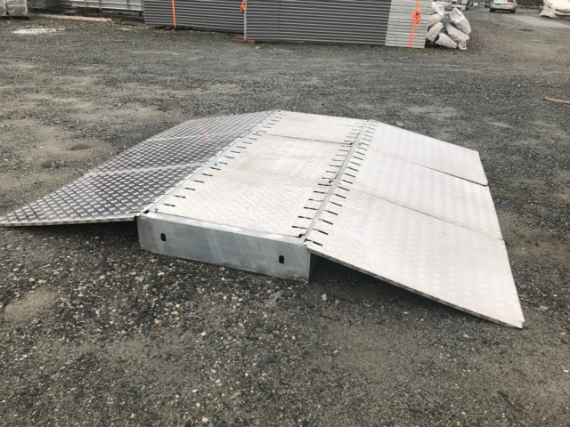 Cartrap Aluminium rampe