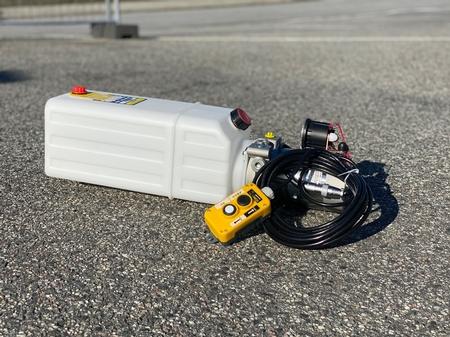 Hydraulikkpumper og lignende