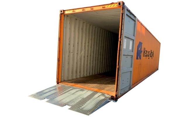 Containerrampe 7 tonn galvanisert