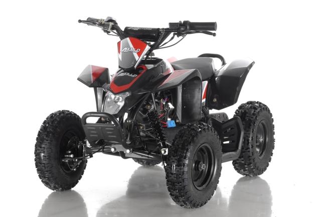 ELEKTRISK ATV 500 WATT  RØD