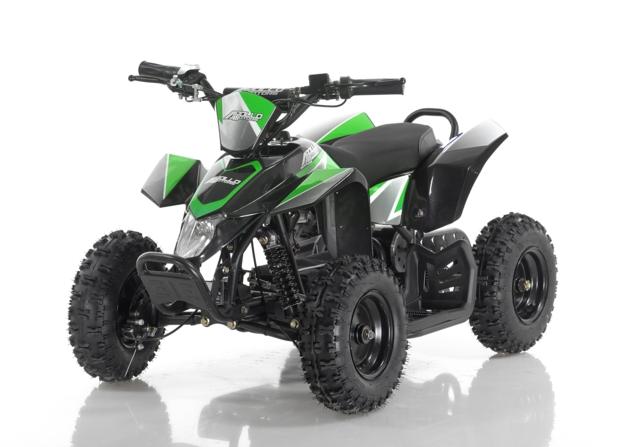 ELEKTRISK ATV 500 WATT GRØNN