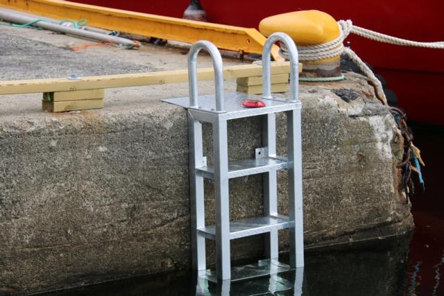 Havne stige 4 meter