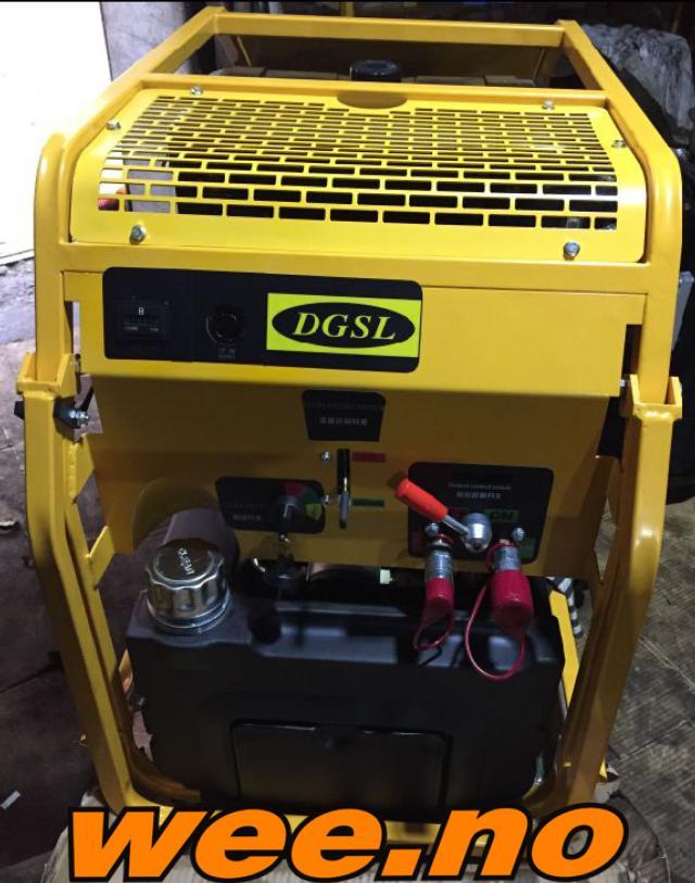 Hydraulisk aggregat Diesel CP15-30