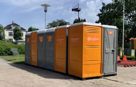 Containere og festival WC