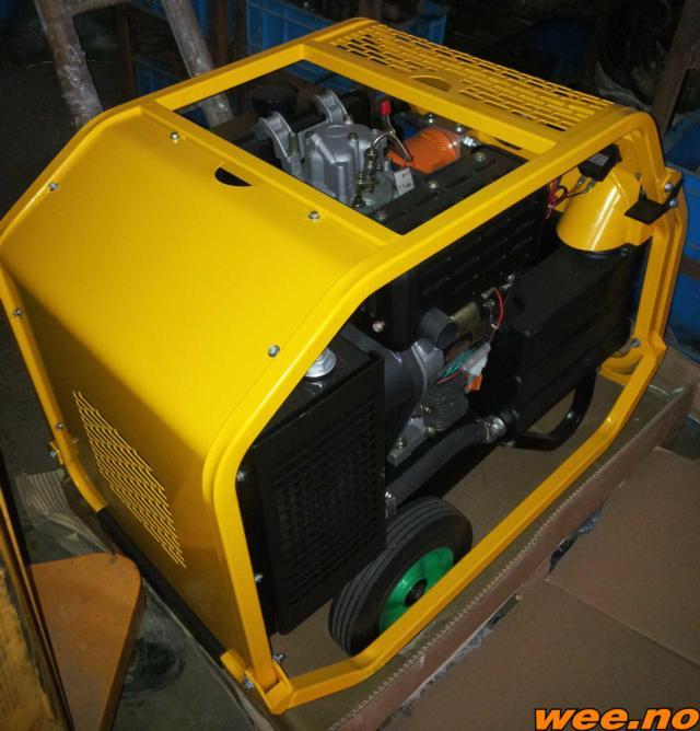 Hydraulisk aggregat Diesel CP13-20