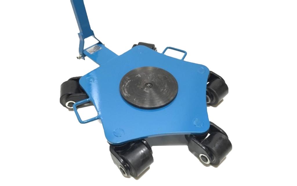 Larveføtter 4 Tonn med rotasjonsplate WCRP 5
